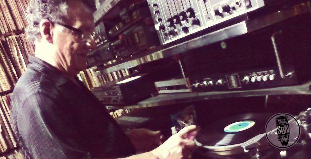 Don Pablo Emilio Solano en su discoteca privada - Noviembre de 2012